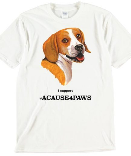 Beagle Dog T-Shirt ACAUSE4PAWS